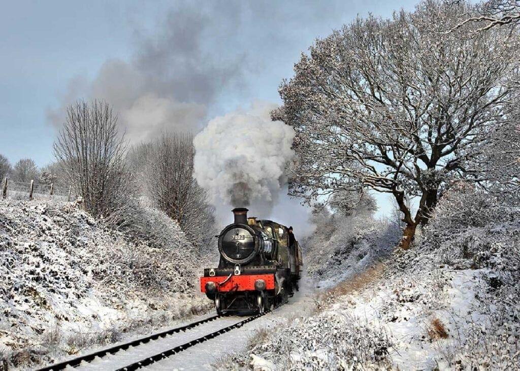 Severn Valley Railway at Christmas