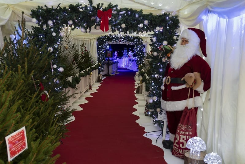 Santa's grotto at North Norfolk Railway