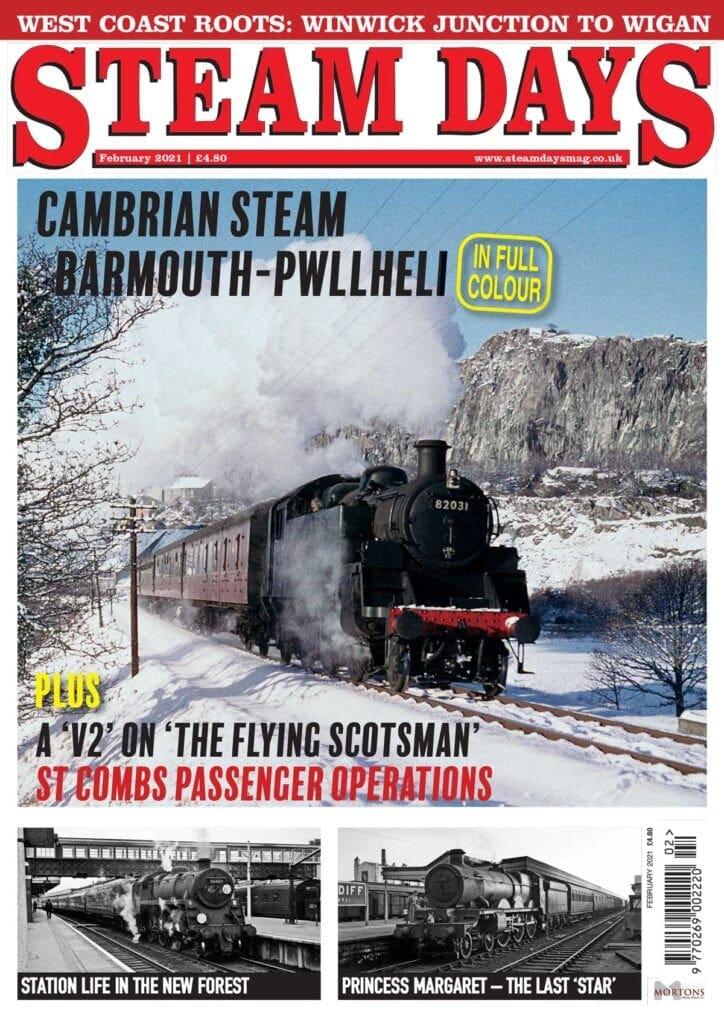 February issue of Steam Days magazine