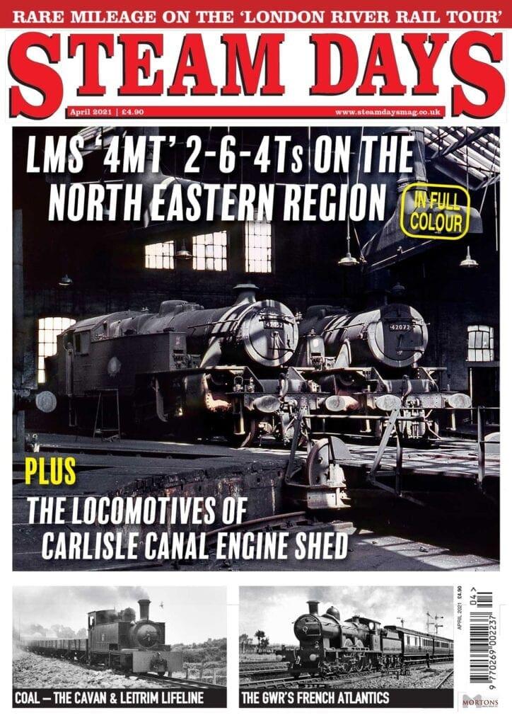 April issue of Steam Days magazine
