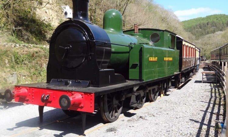 Taff Vale Railway Locomotive No.28
