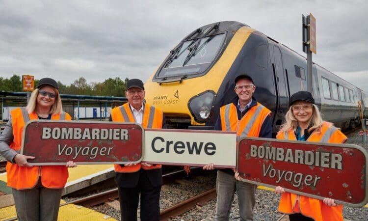 Avanti West Coast and Alstom auction off railway memorabilia for charity